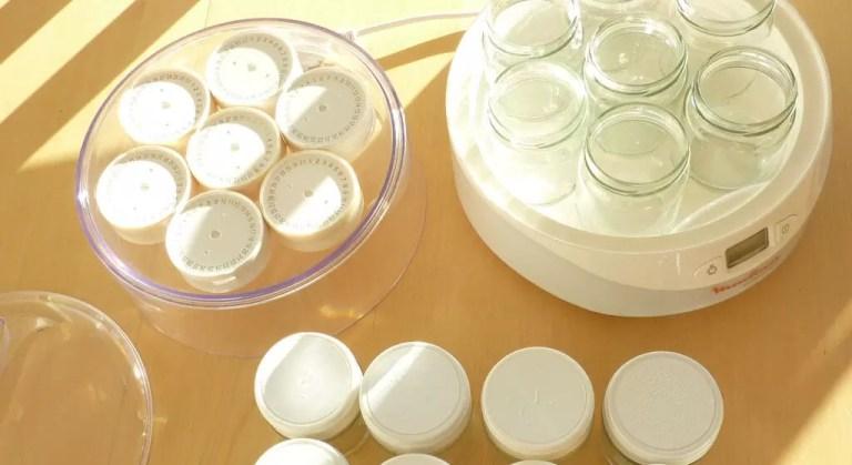 couvercles avec système de datation pour yaourts fait maison