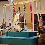 La tête colossale olmèque est arrivée le 28 septembre au musée du quai Branly © Musée du quai Branly