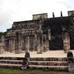 Le temple aux mille colonnes à Chichen Itza © M.C.