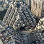 Un immeuble en Chine ressemblant à une pyramide maya (Capture d