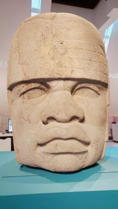 Tête colossale Olmèque n°4