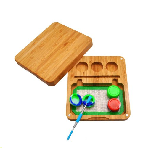 Bamboo Rolling Tray kit