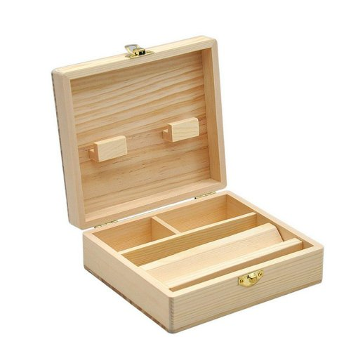 Wooden Stash Box
