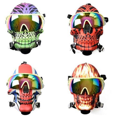 Skull Gas Mask Bong Hookah