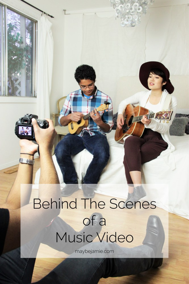 Behind The Scenes of a Music Video