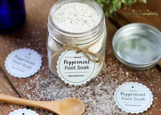 diy-gifts-peppermint-foot-soak