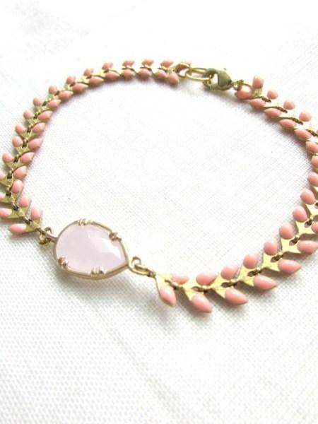 bracelet_colors_bahia_epis_émaillé_rose_pale_nude_hippie_chic_boho_tendance_été_2015_may_boheme