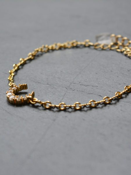 "Bracelet Noor Luna ""INDIAN MOOD"" - Bracelet croissant de lune"