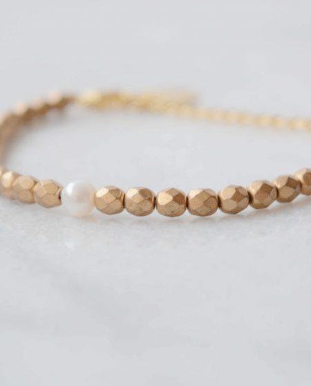 """BRACELET SWEETPEARL """" BOHEMIAN MOOD"""" - Bracelet perles d'eau douce et bohème"""