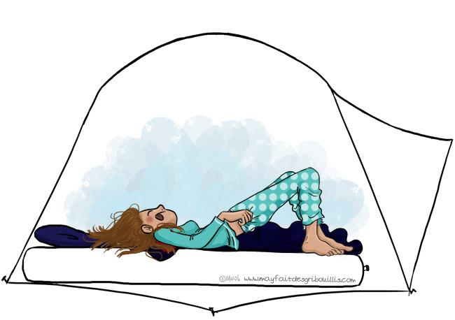Tente Igloo - © MaYFaitDesGribouillis 2016 - Image non libre de droit - Pour en voir plus : www.mayfaitdesgribouillis.com