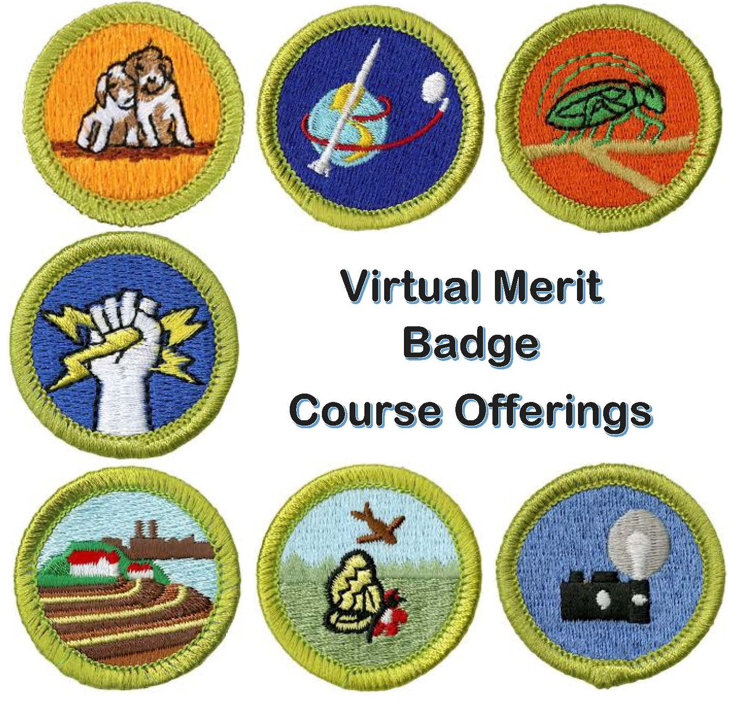 Virtual Merit Badge Offerings August Mayflower Council