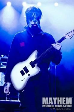 Jim Root (#4) of Slipknot