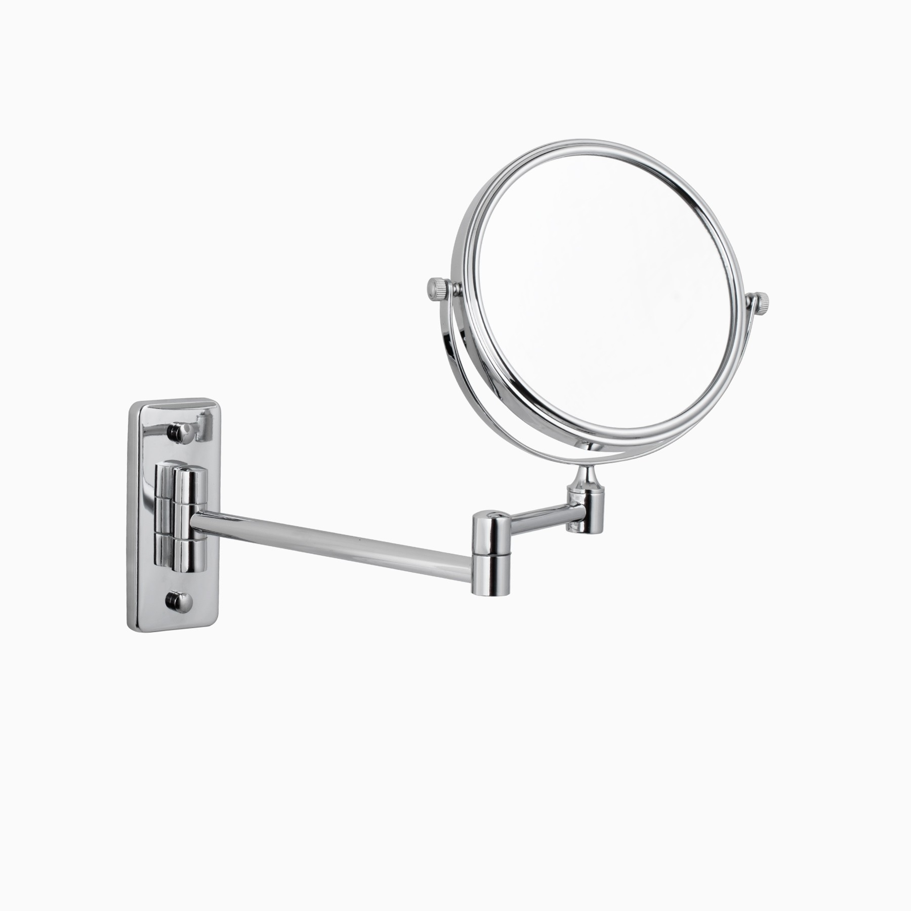 Windor Make Up Mirror With Adjustable Arm In Polished