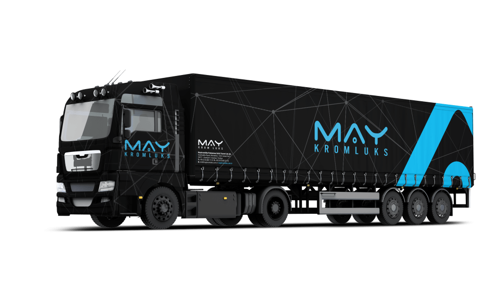 Trailer Truck Mockup Free PSD View 3 - About