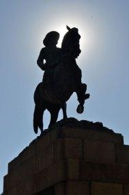 Statue-Silhouette