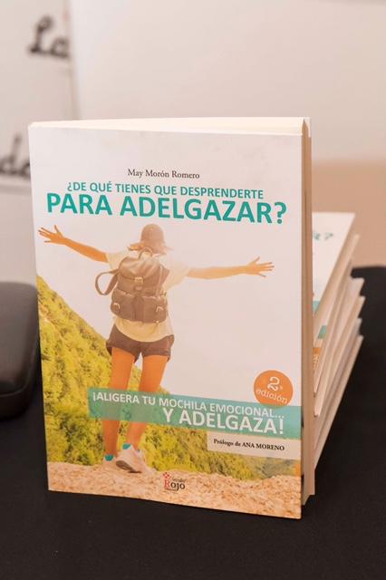 Presentación del libro ¿De qué tienes que desprenderte para adelgazar?