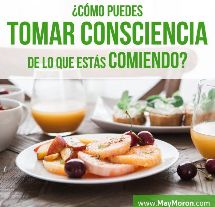 12. ¿Eres consciente de lo qué comes?