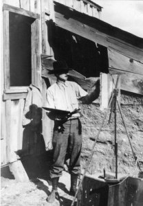 Maynard Dixon Photographs Maynard Dixon 1930 Tehachapi California