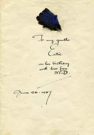 Maynard Dixon Poetry Letters Maynard Dixon To my Gentle Edie  June 23 1937