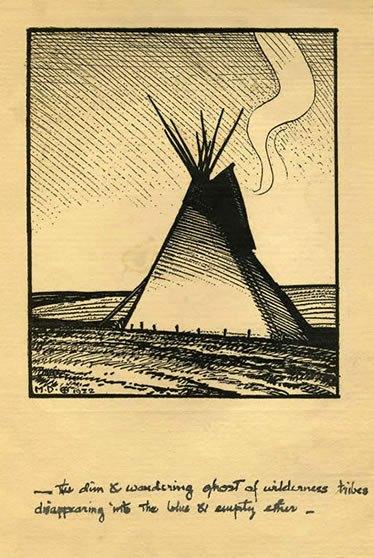 Maynard Dixon Poetry Letters 1922