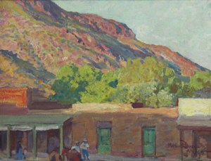 Maynard Dixon Biography Adobe Town Maynard Dixon Tempe Arizona 1915