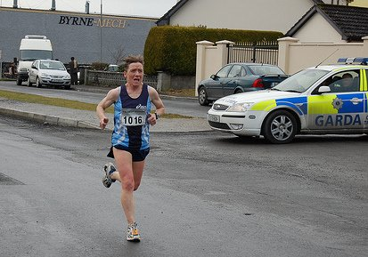 Ann Lennon one of Mayo AC finest athletes 1st 5th overall and 1st o40 Fields of Athenry 10k 2009