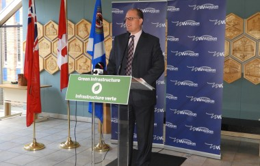Mayor Drew Dilkens at Green Infrastructure Conference
