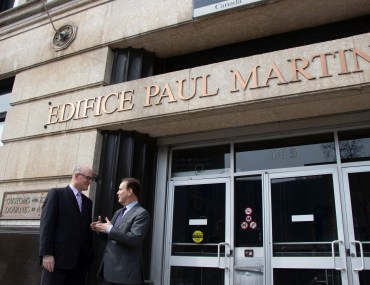 Paul Martin Building Announcement