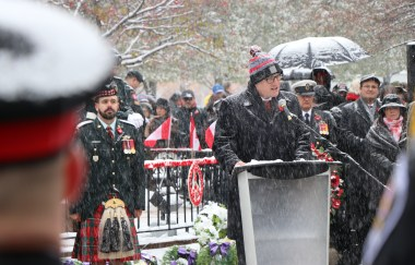 11-11-11, a Remembrance Day Poem by Mayor Drew Dilkens