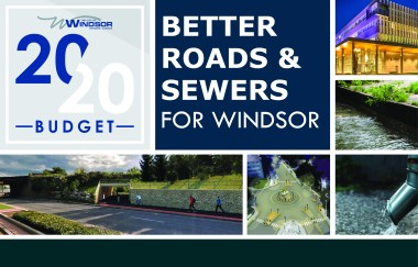 2020 Budget: Better roads and sewers