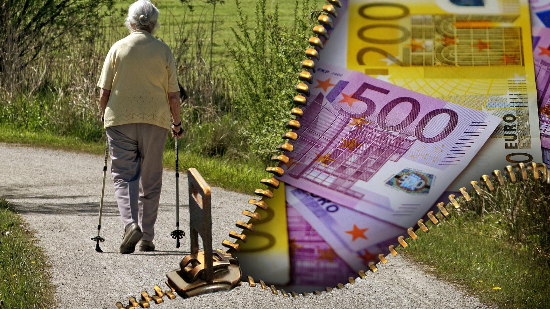 Sólo 7 comunidades autónomas superan la pensión media nacional de la jubilación