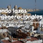 Seis alumnos de la Universidad de Cádiz, procedentes de Nueva Jersey, visitan el Centro Social de la Asociación Provincial de Pensionistas y Jubilados de Cádiz (UDP)