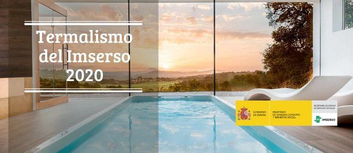 Programa de termalismo IMSERSO 2020
