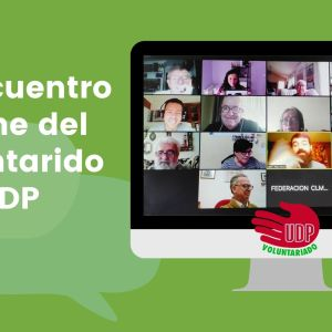 Tercer encuentro virtual del Voluntariado UDP