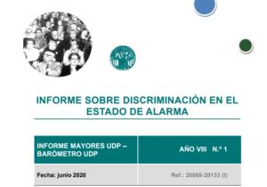 Discriminación durante el estado de alarma_Barómetro MayoresUDP