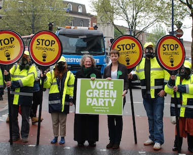 Jenny Jones urges Londoners to vote for cleaner air