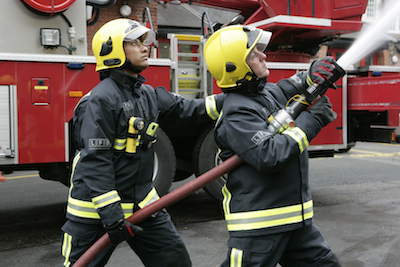 One claim was brought in opposition to the closure of fire stations. Image: LFEPA