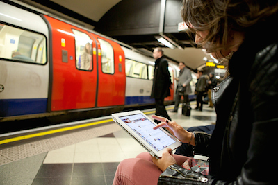 Three mobile customers gain access to Tube WiFi service