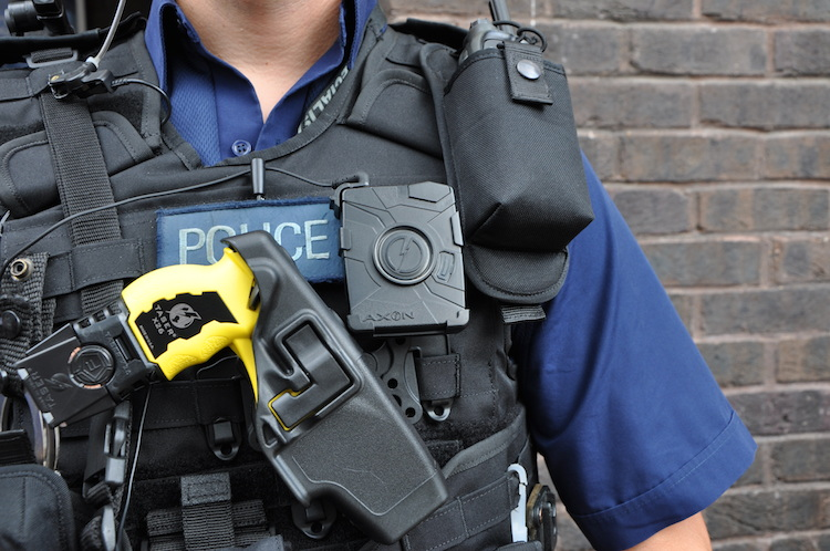 Frontline cops need more support to avoid Taser 'postcode lottery'