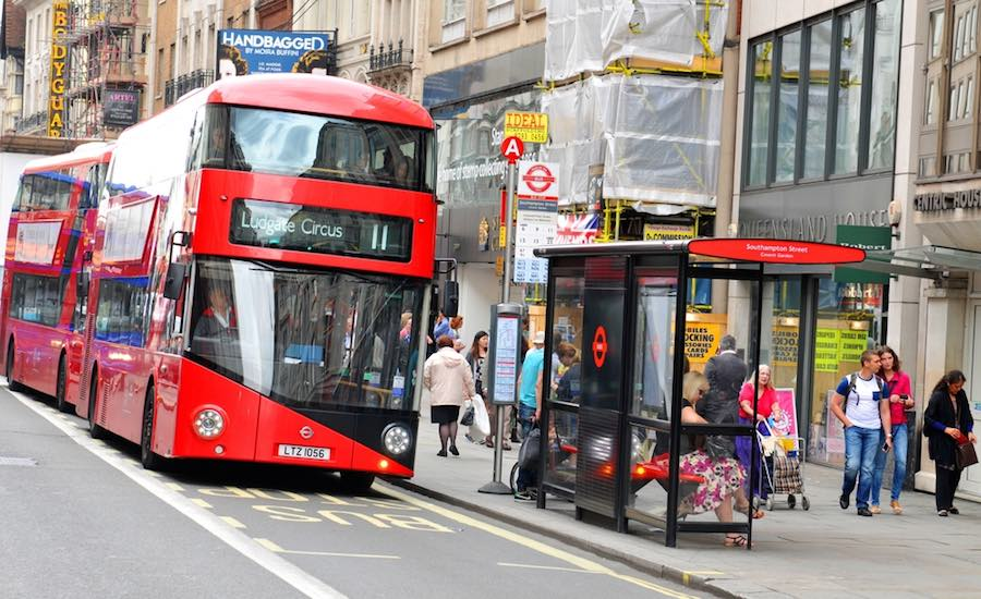 Smoking to be banned at all London bus shelters