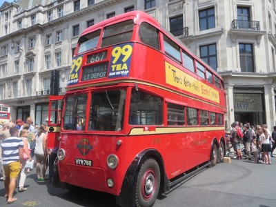 A collection of vintage buses will be on display.