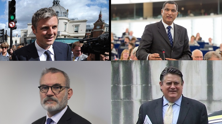 Top to Bottom: Zac Goldsmith, Syed Kamal, Andrew Boff and Stephen Greenhalgh are on the shortlist