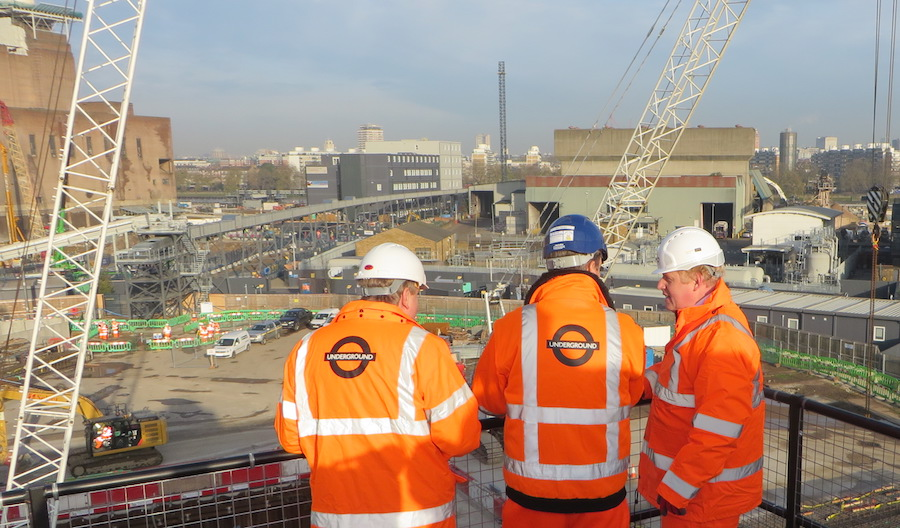 The project will support a major regeneration of the Nine Elms area.