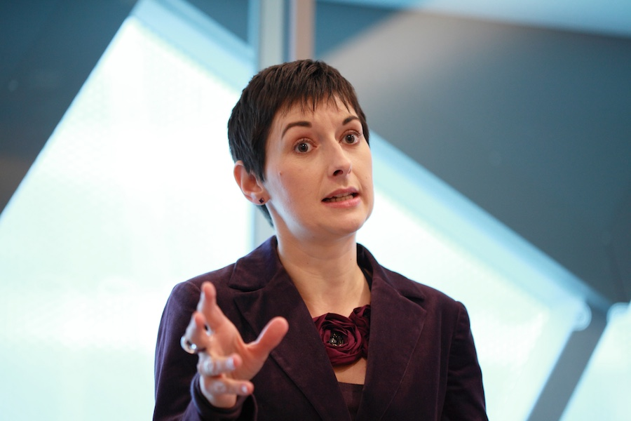 Caroline Pidgeon says her rival's policy threatens investment.