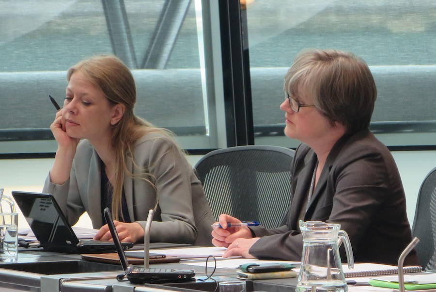 "Caroline Russell (Right) says Mr Khan's promised review is a ""sham"""