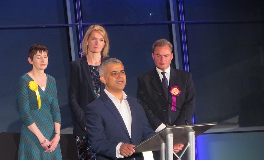 Sadiq Khan is London's new mayor