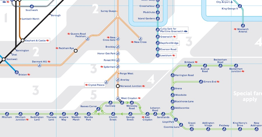 Londons Tube map updated to include tram services MayorWatch