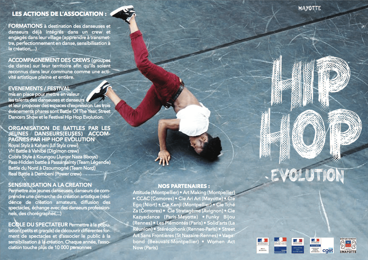 Hip Hop Evolution Mayotte - Tourisme Mayotte