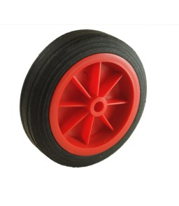 430 red plastic wheel