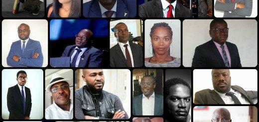 Les 22 signataires de la tribune qui s'oppose au caractère payant des contentieux électoraux au Gabon